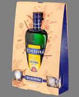 Becherovka Original 0,7L  2 skleničky