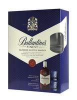 Ballantine's Finest 0,7L 2 skleničky