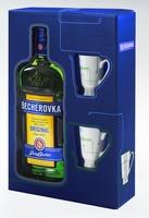 Becherovka Original 0,5L 2 kalíšky