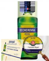 Becherovka Original 0,5L personalizovaná etiketa